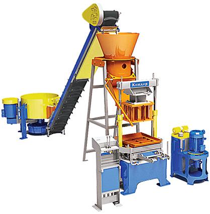 ...производственную установку, которая позволяет производить широкий спектр различных стройматериалов.